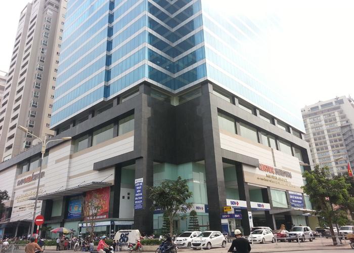 Tòa nhà phía trước có điểm giao nhau giữa 2 con đường cũng sẽ tích tụ được vận may và tài khí cho văn phòng